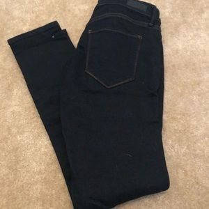 Abercrombie and Fitch dark wash jeans. Size 27/4 S